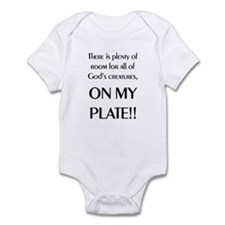 On My Plate Infant Bodysuit