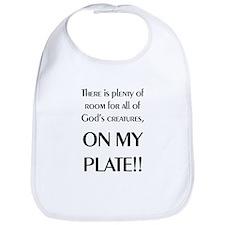 On My Plate Bib