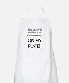 On My Plate BBQ Apron