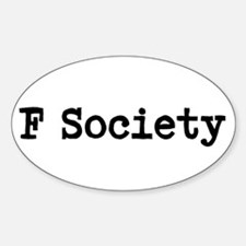 Cute Society robot Decal