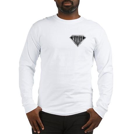 SuperWanker(metal) Long Sleeve T-Shirt