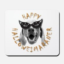 Happy Halloweimaraner! Mousepad