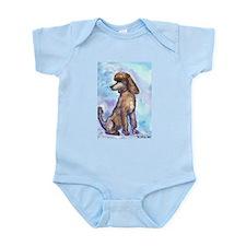 """""""Brown Poodle"""" Infant Bodysuit"""