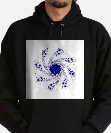 Blue Pin Wheel Sweatshirt