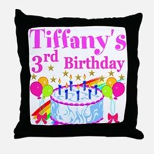 CUSTOM 3RD Throw Pillow