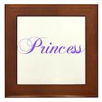 20. Princess Framed Tile