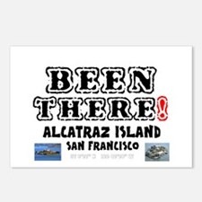 BEEN THERE! - ALCATRAZ IS Postcards (Package of 8)