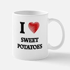 I Love Sweet Potatoes Mugs