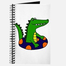 Funny Alligator Tubing Journal