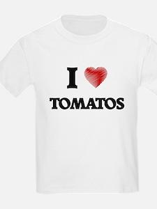 I Love Tomatos T-Shirt