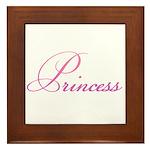 24. Princess Framed Tile