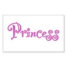 25. Princess Rectangle Decal
