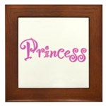 25. Princess Framed Tile