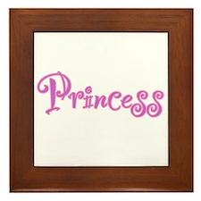 25. Princess Framed Tile