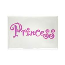 25. Princess Rectangle Magnet