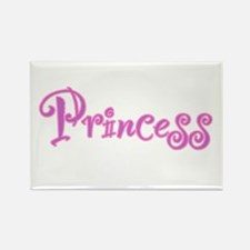 25. Princess Rectangle Magnet