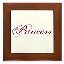 26. Princess Framed Tile