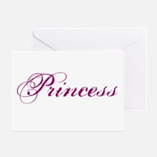 26. Princess Greeting Card