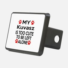 Kuvasz Is Too Cute Hitch Cover