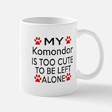 Komondor Is Too Cute Mug