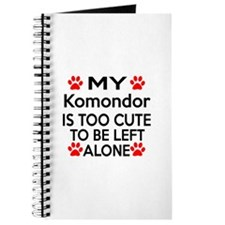 Komondor Is Too Cute Journal