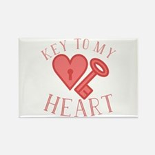 Key To Heart Magnets
