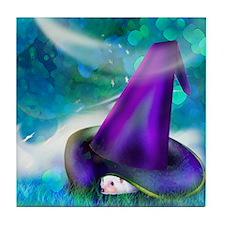 """Wizard's Hat"" Tile Coaster"