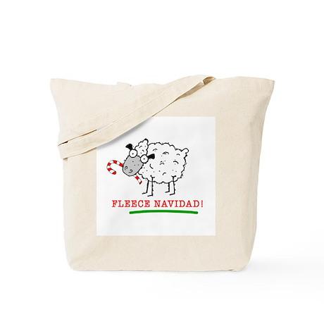 Fleece Navidad! Tote Bag