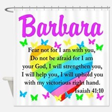 JOYOUS ISAIAH 41:10 Shower Curtain