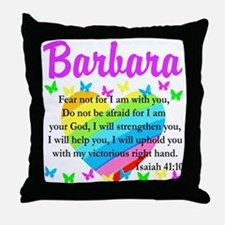 JOYOUS ISAIAH 41:10 Throw Pillow