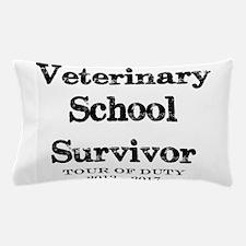 Veterinary School Survivor Pillow Case