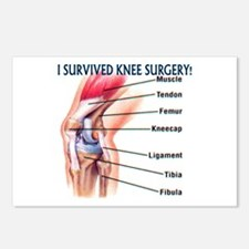 Knee Surgery Gift 6 Postcards (Package of 8)