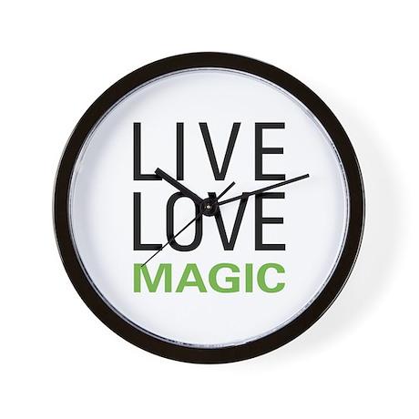 Live Love Magic Wall Clock