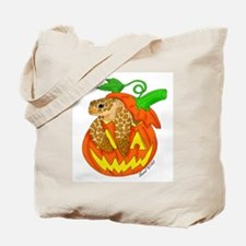 Halloween Sea Turtle Tote Bag