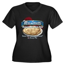 meat pie Women's Plus Size V-Neck Dark T-Shirt
