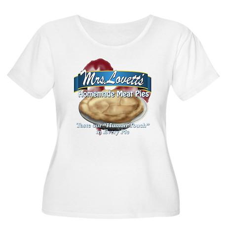 meat pie Women's Plus Size Scoop Neck T-Shirt