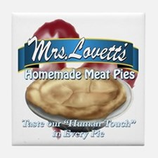 meat pie Tile Coaster