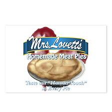 meat pie Postcards (Package of 8)