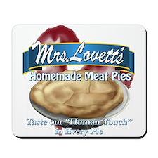 meat pie Mousepad