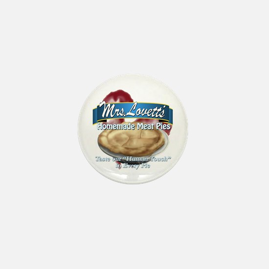 meat pie Mini Button