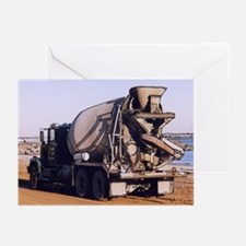 Cement Mixer #1 -Greeting Cards (Pk of 10)