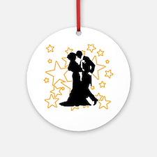 Ballroom Dance Couple Ornament (Round)
