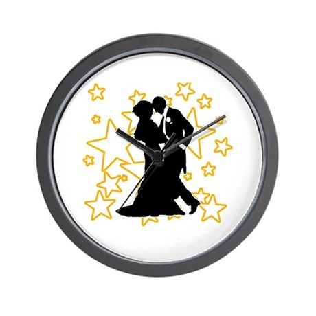 Ballroom Dance Couple Wall Clock