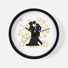 Ballroom Dance Couple Wall Clock
