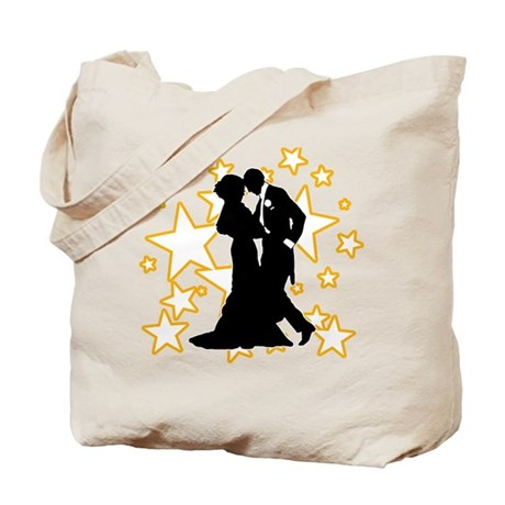 Ballroom Dance Couple Tote Bag