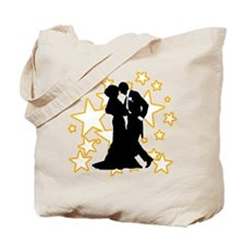 Ballroom Dance Couple Tote Bag
