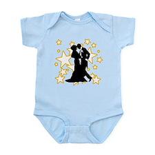 Ballroom Dance Couple Infant Bodysuit