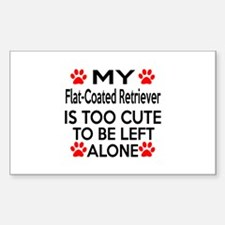 Flat-Coated Retriever I Decal