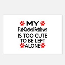 Flat-Coated Retriever Is Postcards (Package of 8)