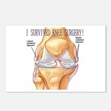 Knee Surgery Gift 7 Postcards (Package of 8)